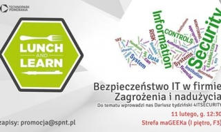 Lunch & Learn w Technoparku Pomerania w Szczecinie
