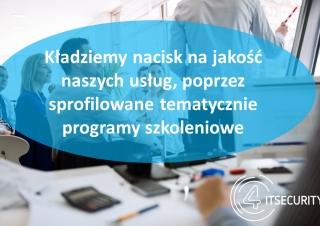 Zapraszamy do skorzystania z oferty szkoleniowej