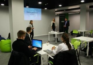 Lunch & Learn w Technoparku Pomerania w Szczecinie